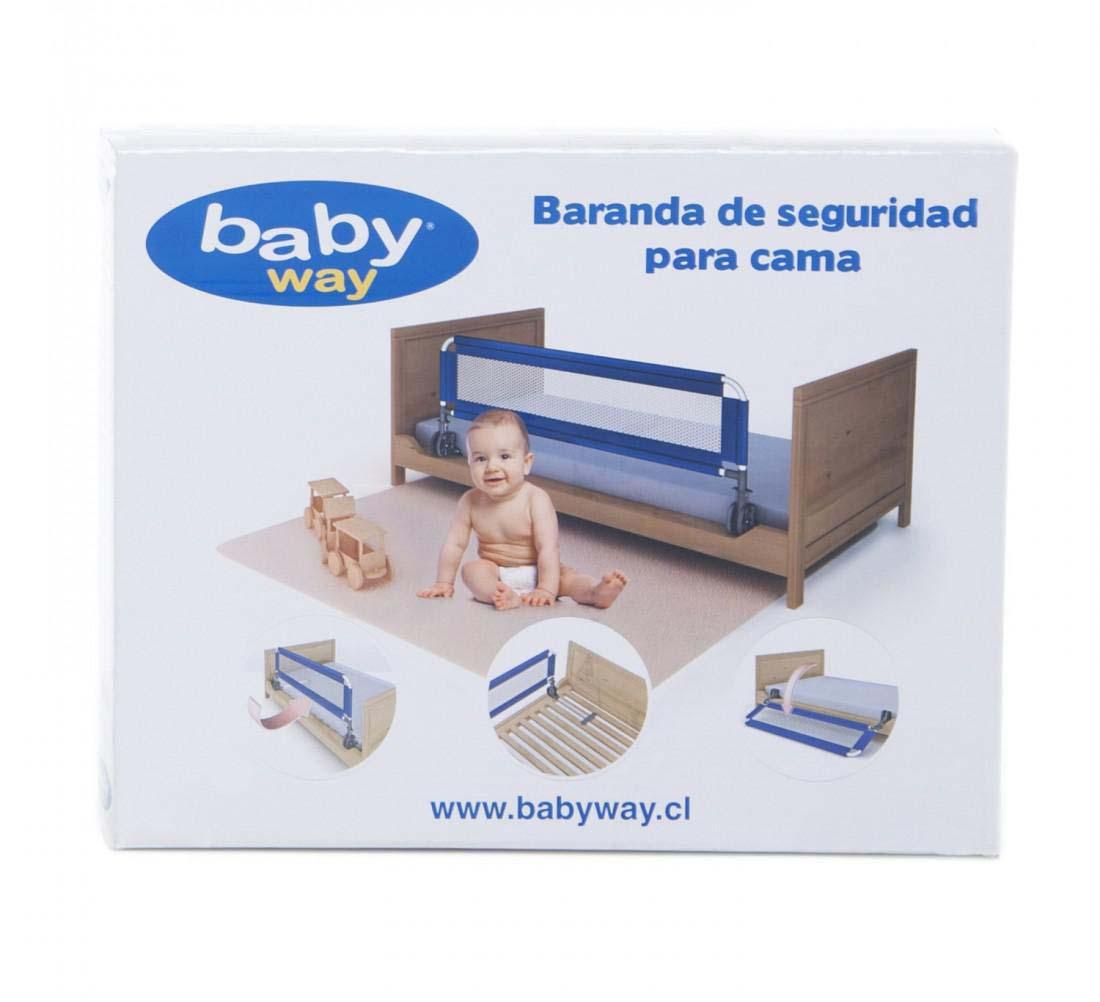 Baranda De Seguridad De Cama Azul Baby Way