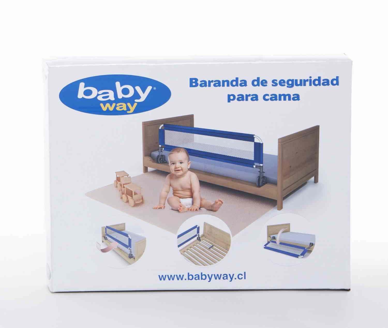Baranda De Seguridad De Cama Fucsia Baby Way