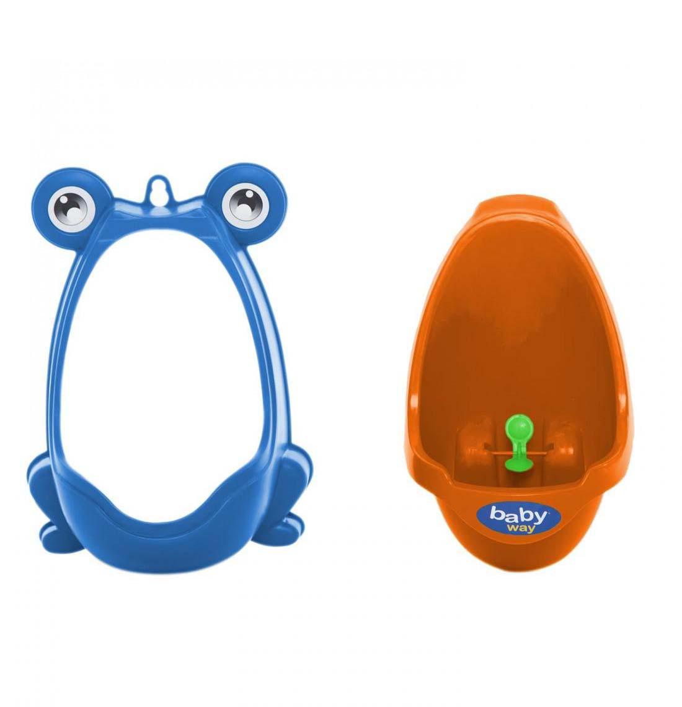 Baño Urinal Baby Way Azul