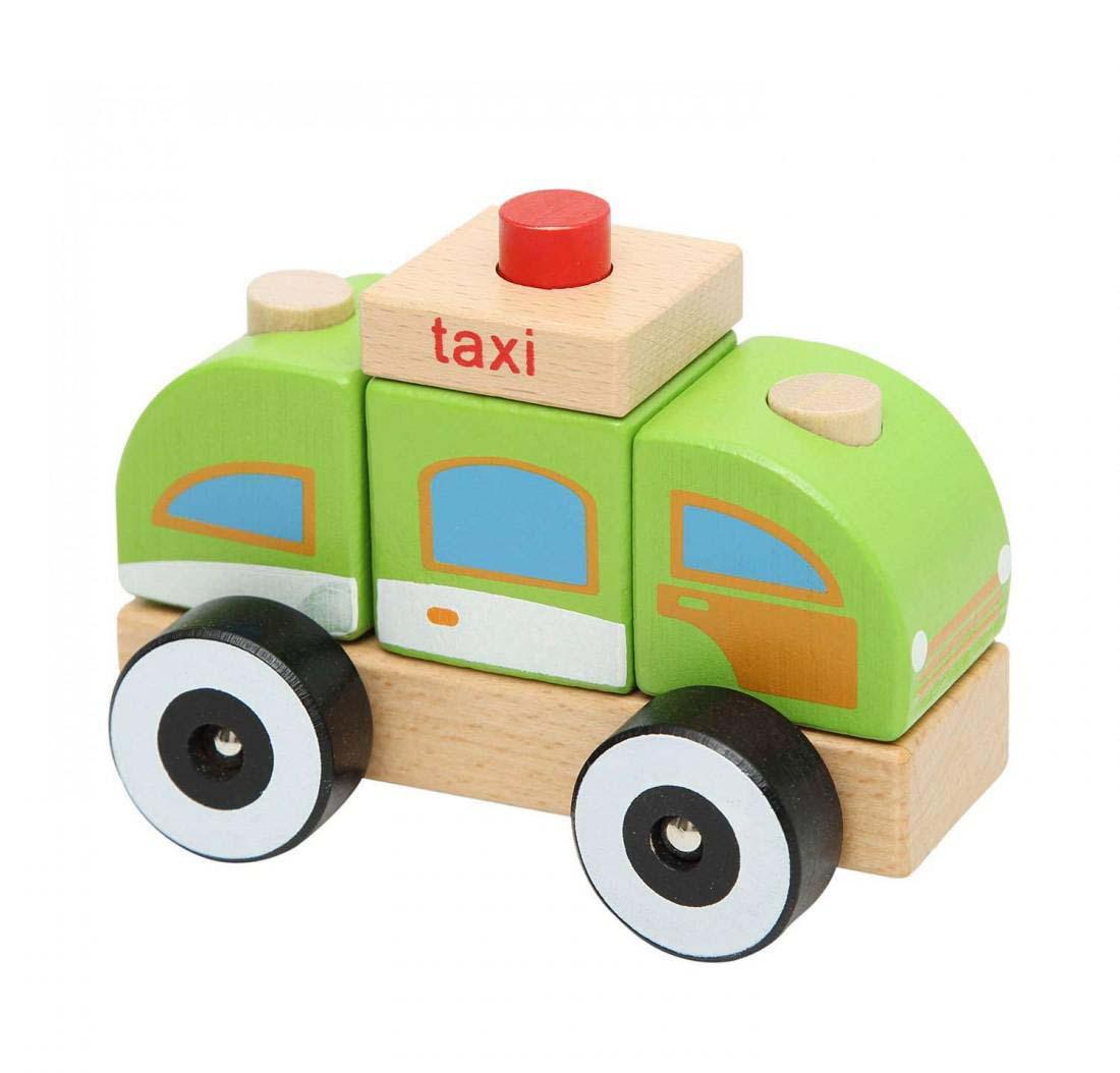 Juguete Madera Didactico Taxi Baby Way