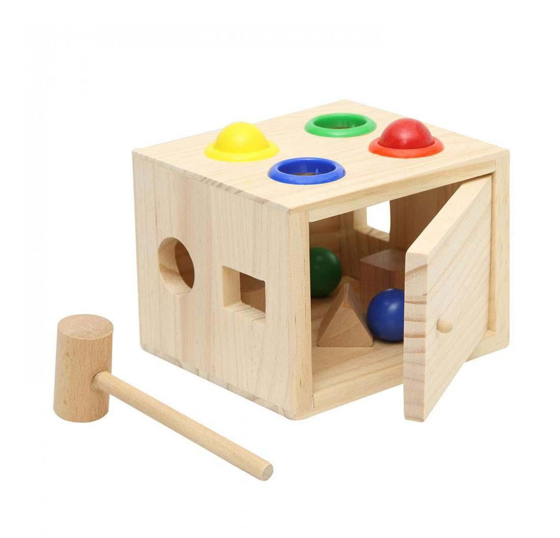 Juguete Madera Didactico Caja Figuras Encaje Baby Way