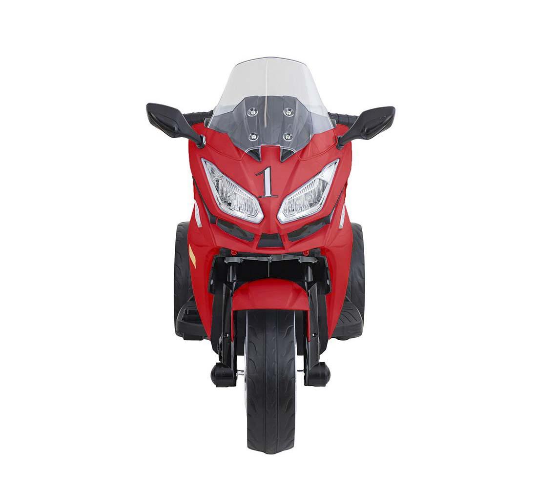 Moto De Carrera A Batería Musical Baby Way Rojo
