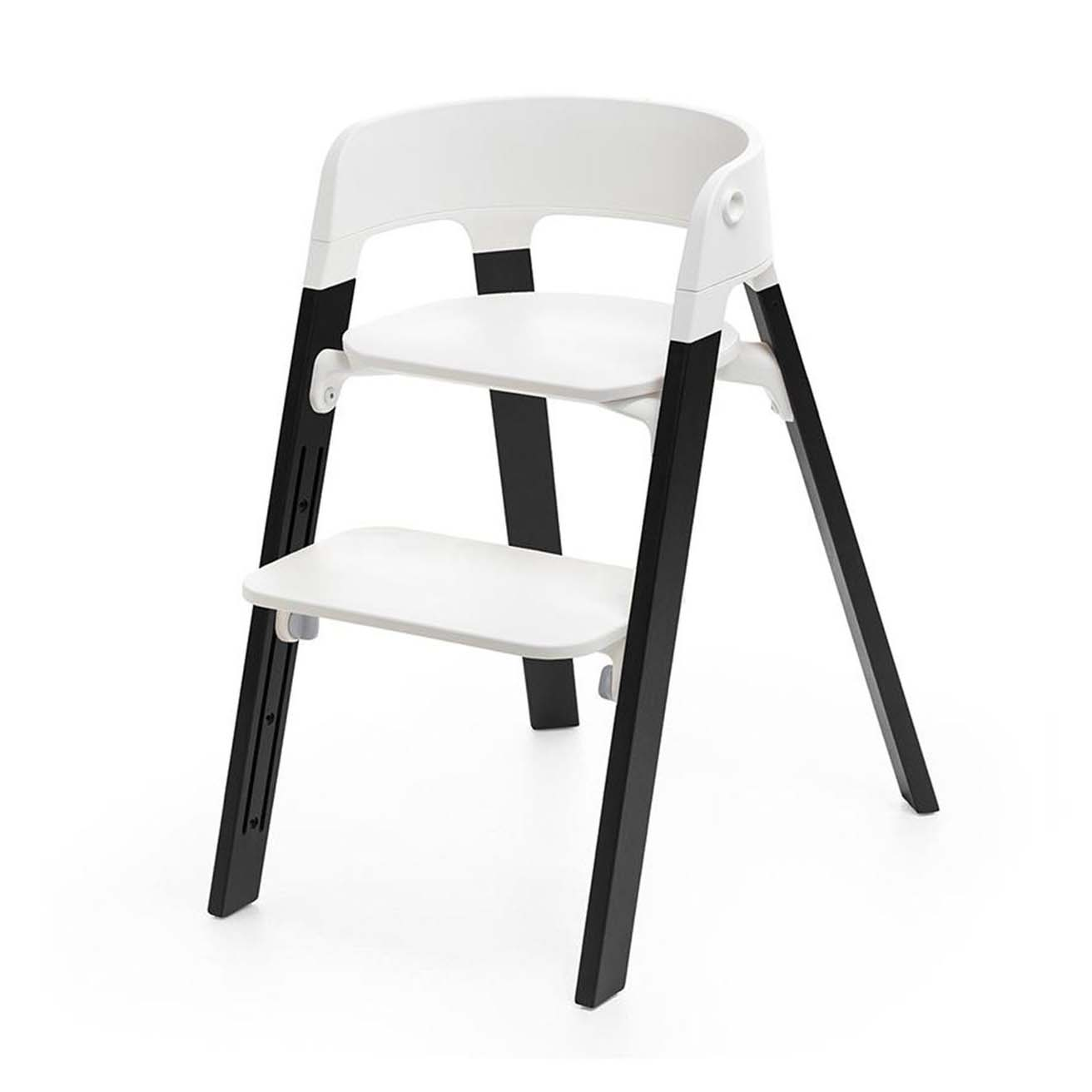 Silla Steps White Roble