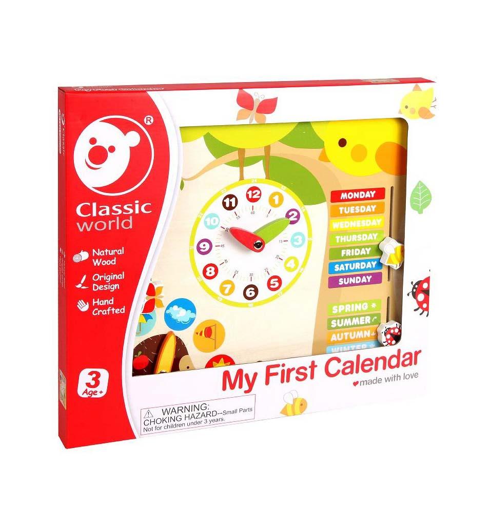 Mi primer calendario
