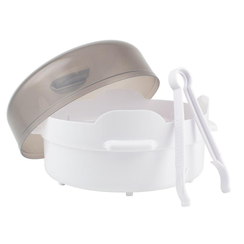 Esterilizador microondas 4 mamaderas