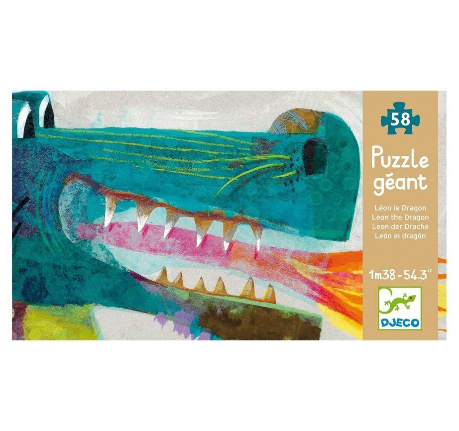 Puzzle Gigante León El Dragón