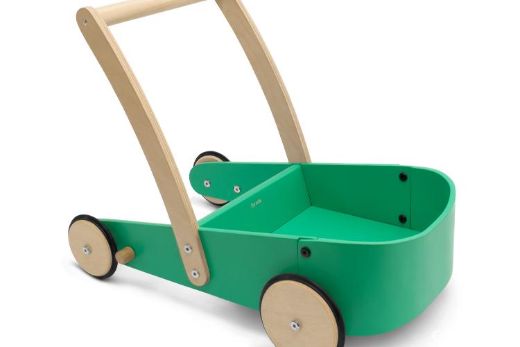 Carrito andador verde