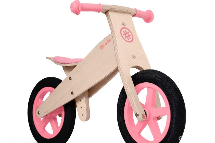 Bicicleta clásica rosado