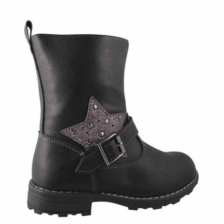 Bota Estrella Niña Negro Fagus 2FB11020
