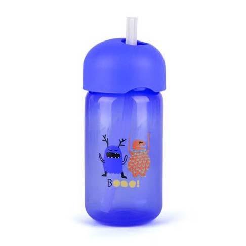 Botella Pajita Booo Azul