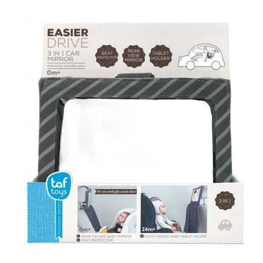 Juguete 3 In 1 Car Mirror - Espejo Para El Auto Y Adaptador De Laptop