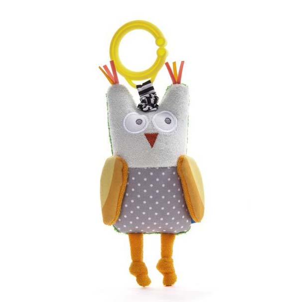 Juguete Obi The Owl - Cascabel De Sonido Suave