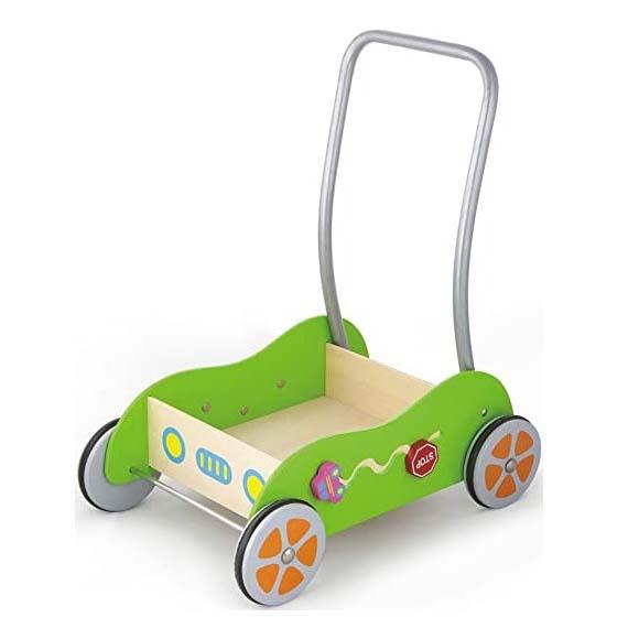 Caminador Ejercitador para Bebé de Madera Antideslizante
