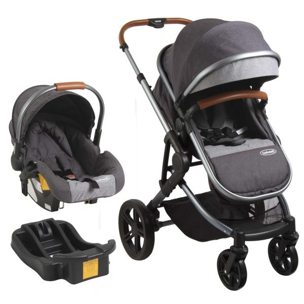 Coche Travel System ASPEN AIR - Gris