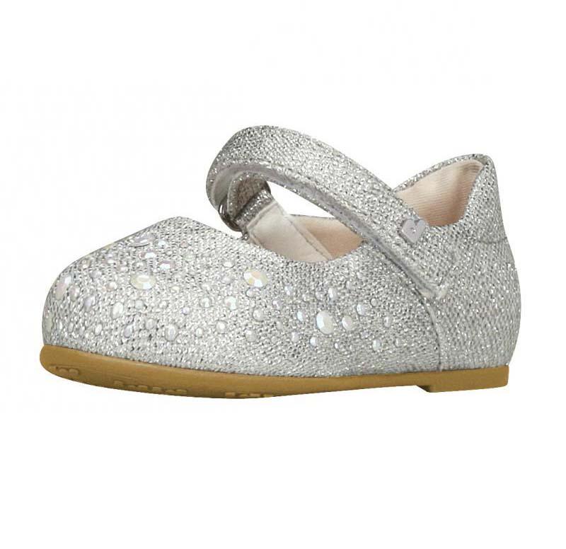 Ballerina Glitter Plateado