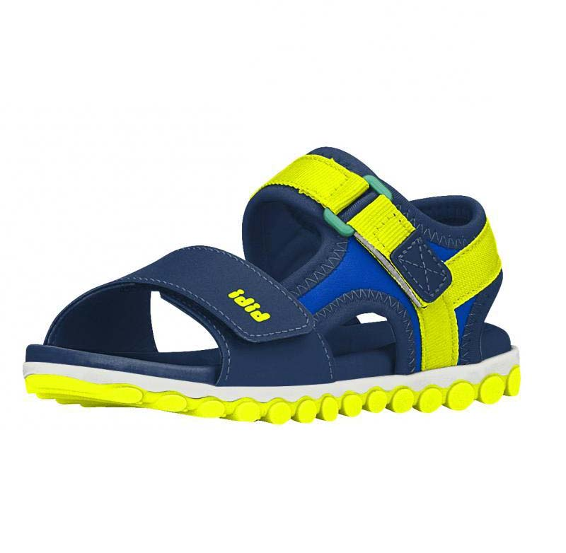 Sandalia Sport Bicolor Azul