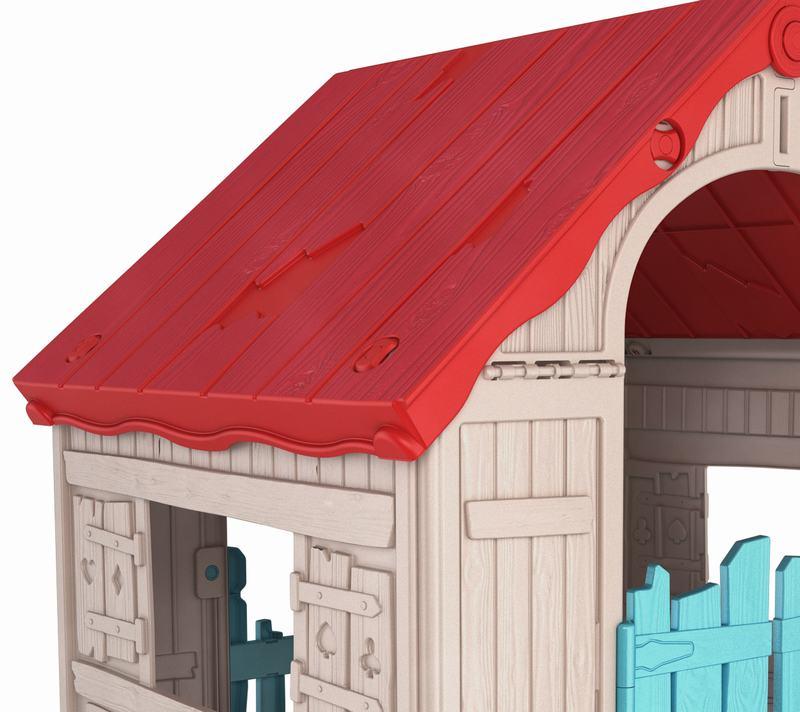 Casa De Juego Keter Puerta