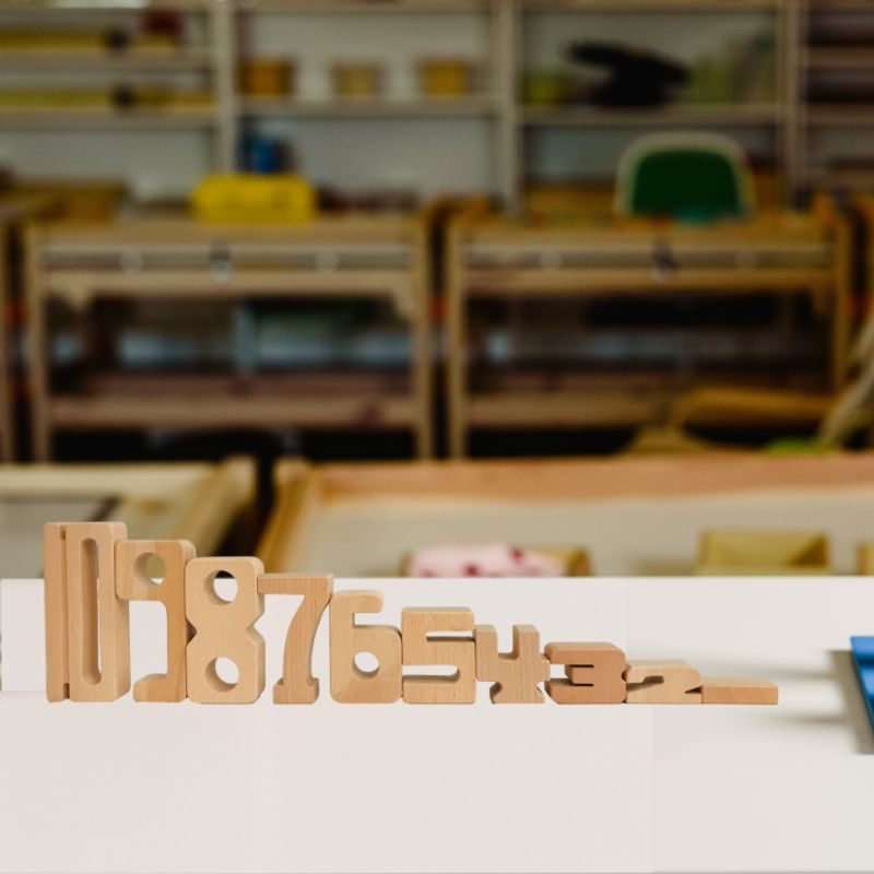 Woodis Números, Set Chico, 15 Piezas