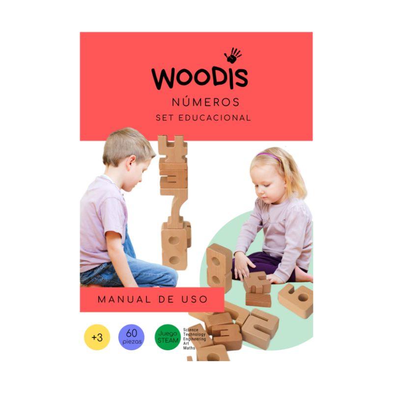 Woodis Números, Manual de Uso