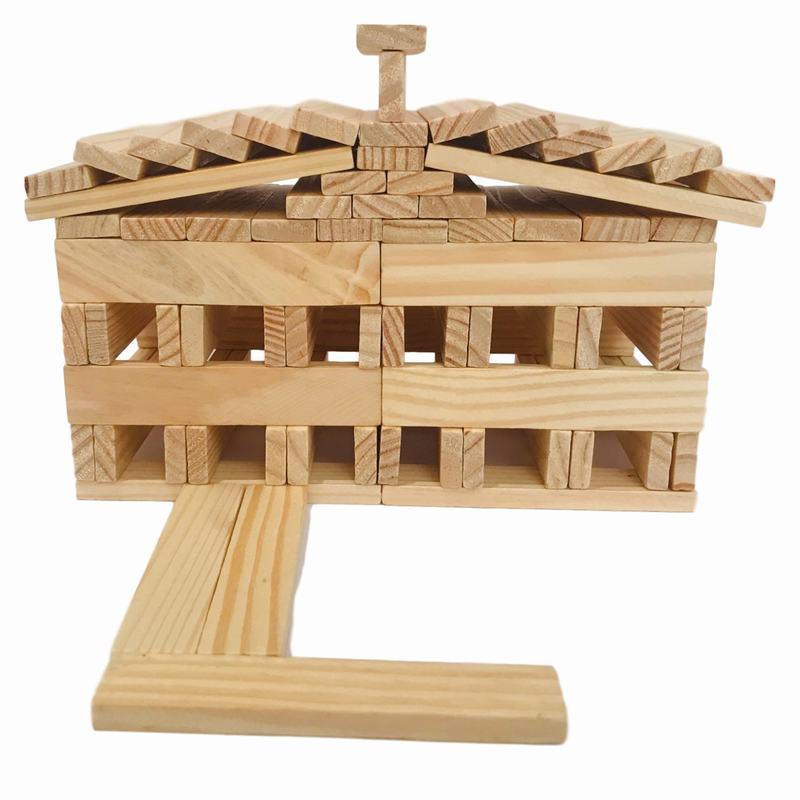 Woodis Arquitecto, Set Chico, 75 Piezas