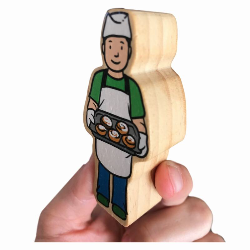 Woodis Personas, Cuando Grande Seré 2, 10 Piezas