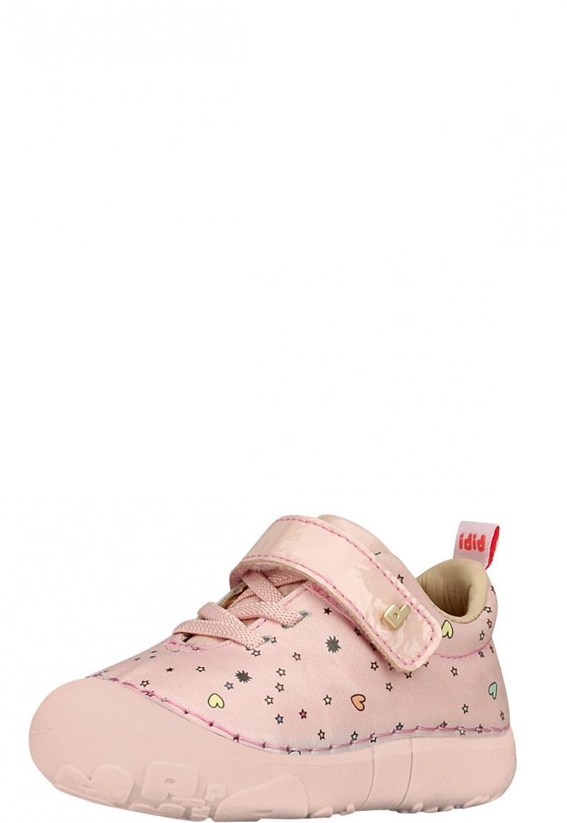 Zapatilla Cuero Rosa Diseños