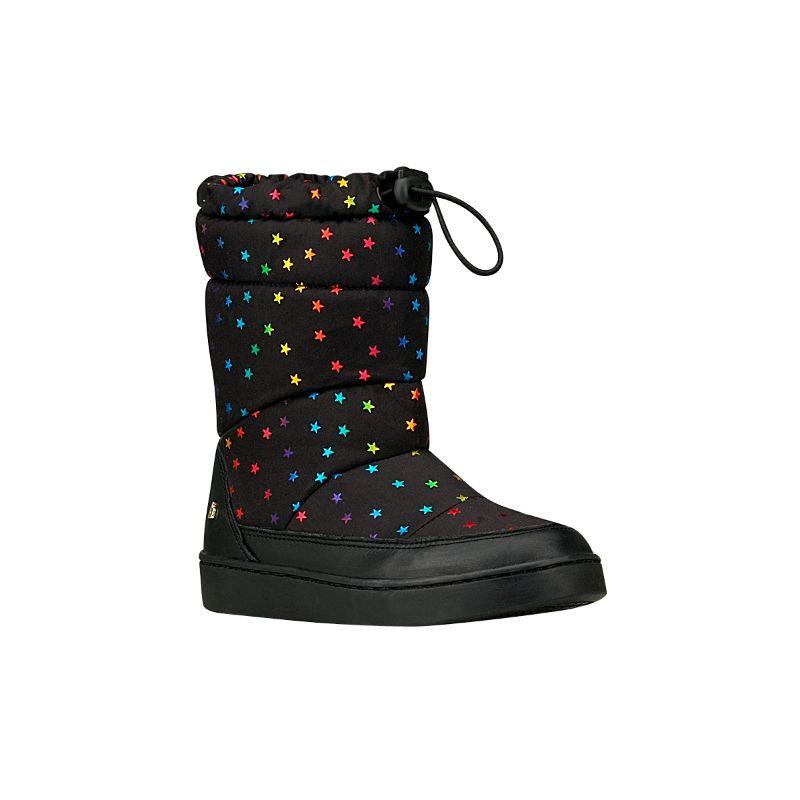 Bota Urban Boots Negro Estrellas