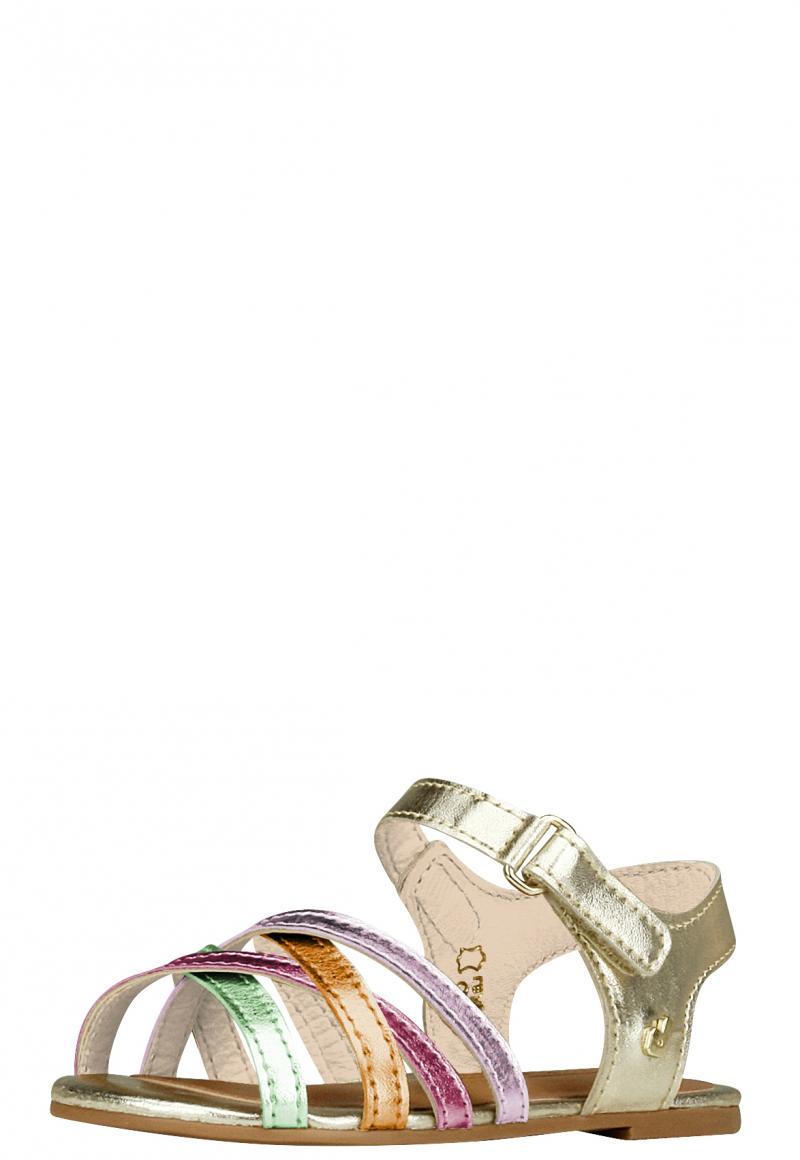 Sandalia Cuero Dorado colores