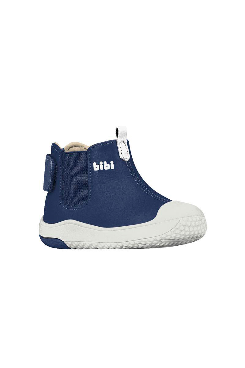 Zapato Cuero Pre walker Azul