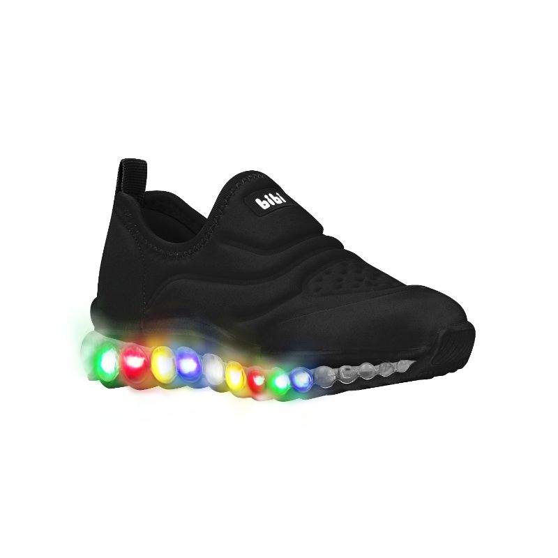 Zapatilla con Luces Roller Celebration Negro