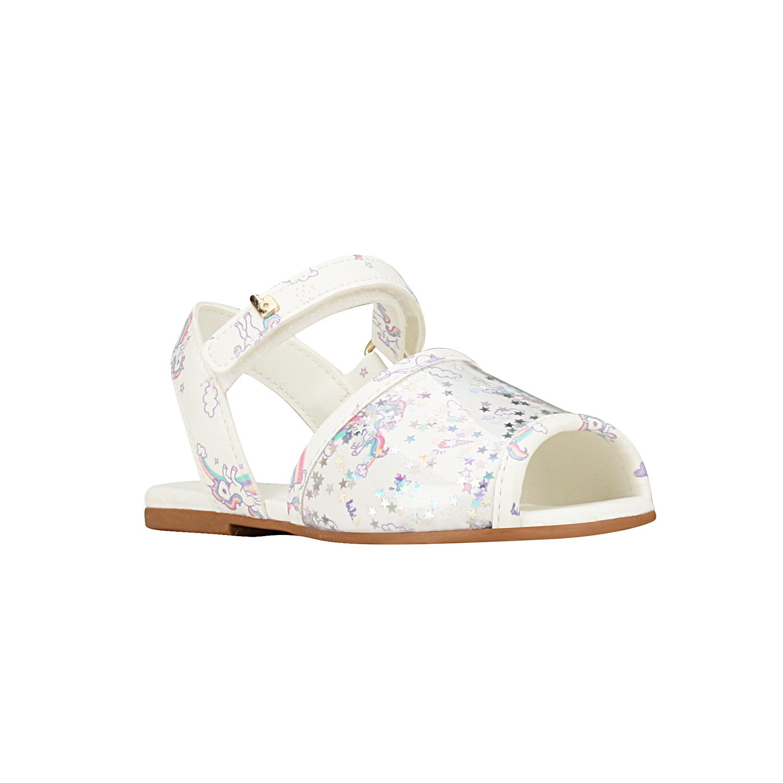 Sandalia de Unicornio Mini Me Blanco