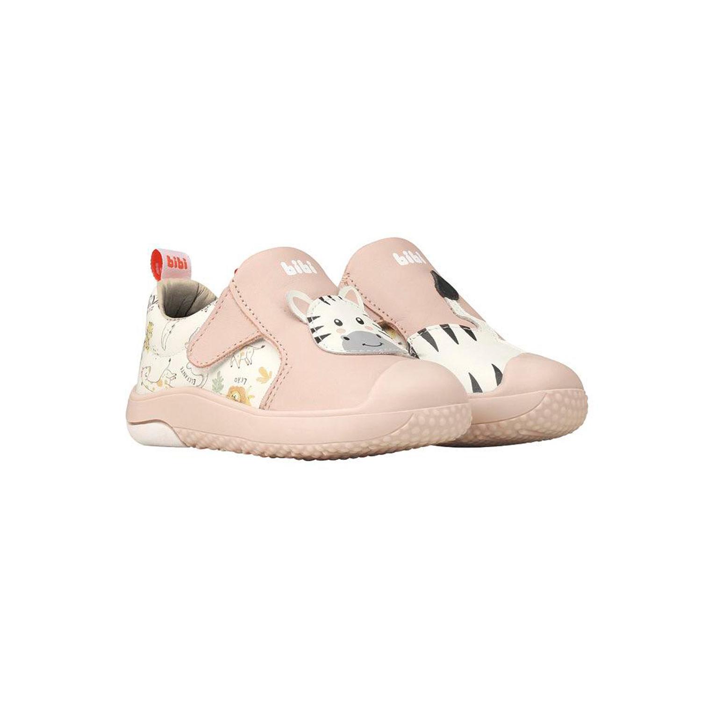 Zapato Cuero Prewalker Rosa