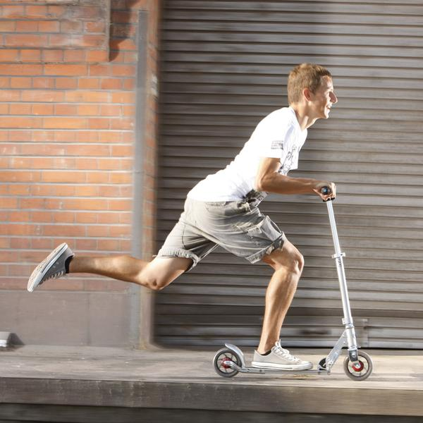 Micro Scooter de adulto Speed+ Pure Silver