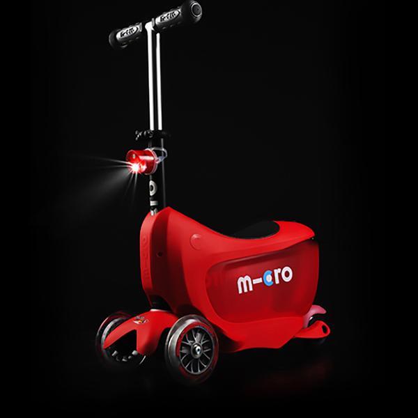 Micro Scooter Mini2Go Deluxe Plus Rojo