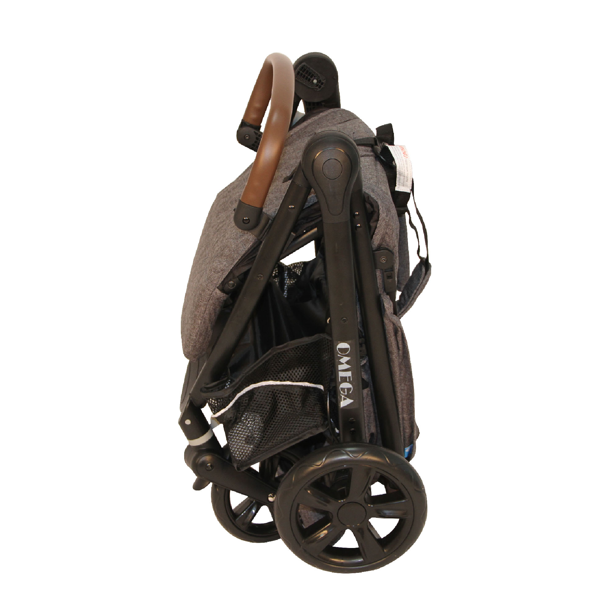 Coche Travel System 3 en 1 Omega RS-13795-3 Negro