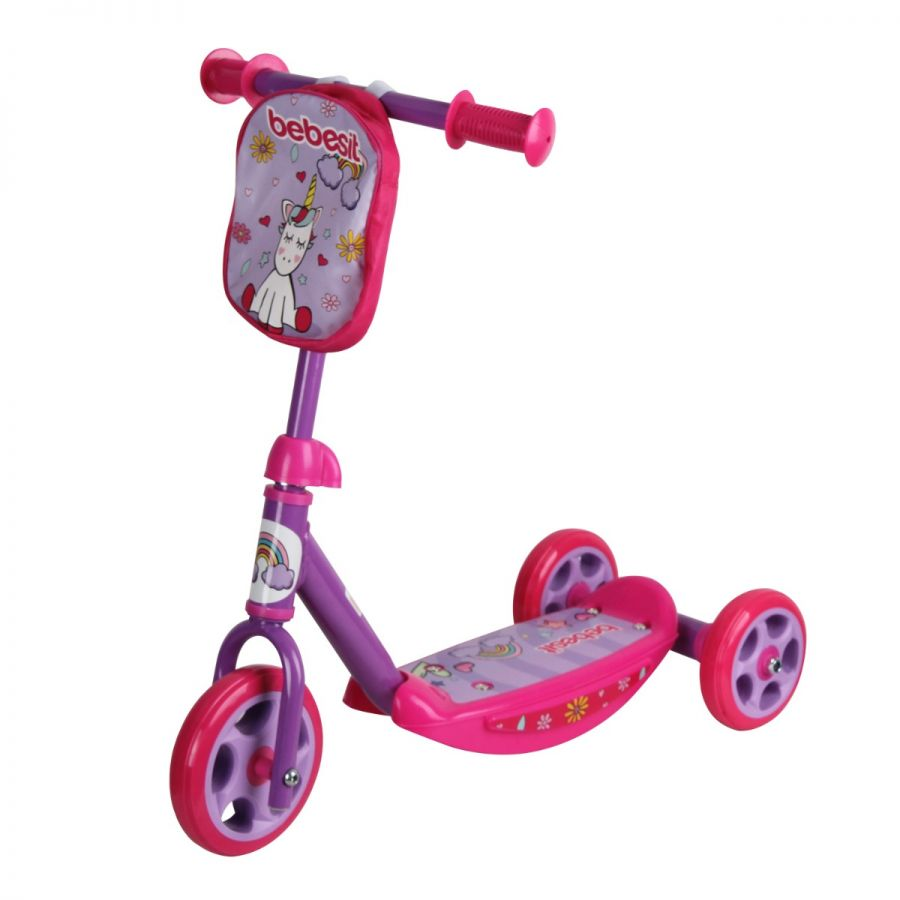 Scooter Steel Unicornio Rosa
