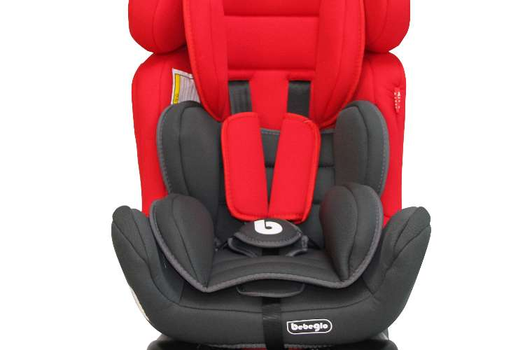 Silla De Auto 0 a 25 Kg BXS-213-3 Rojo