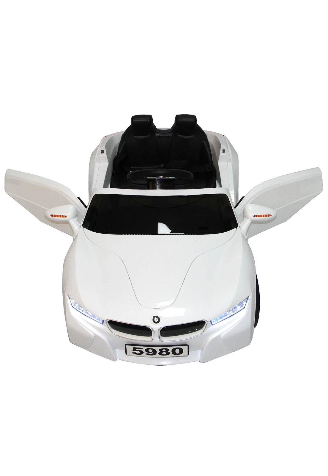 Auto a Batería + control remoto - Blanco