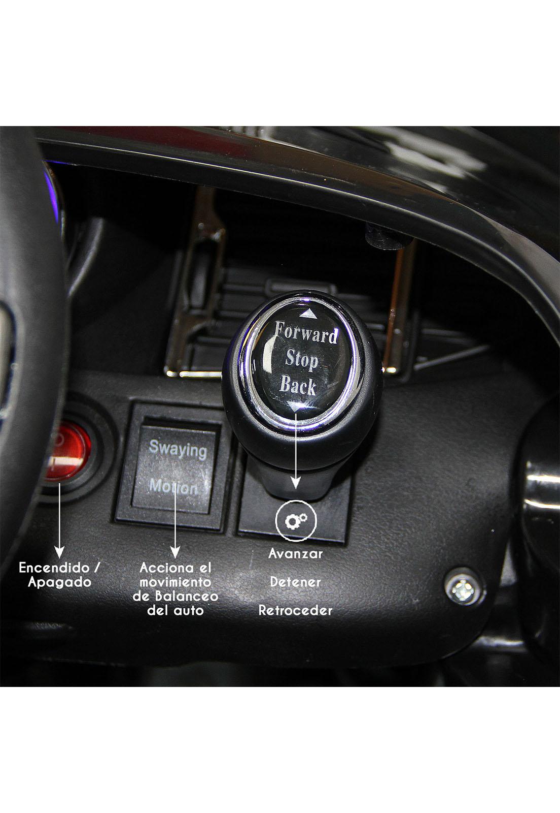 Auto a Batería + control remoto - Fucsia