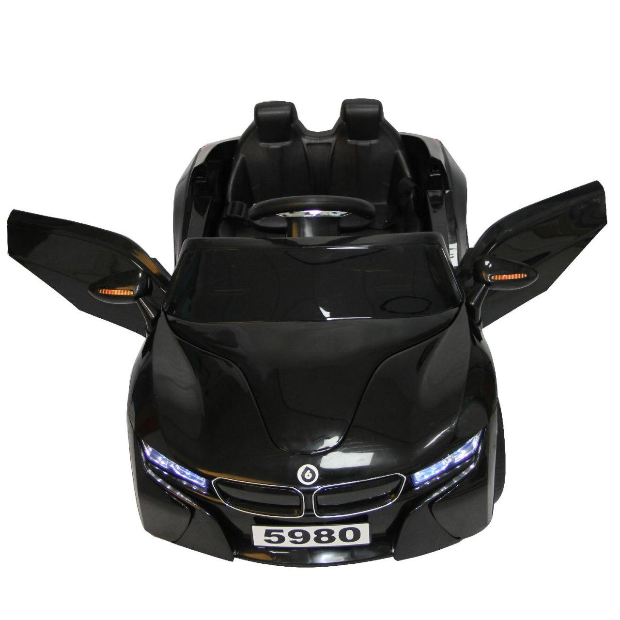 Auto a Batería + control remoto - Negro
