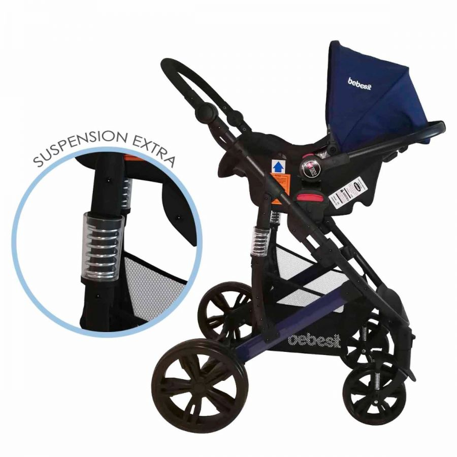 Coche Travel System Quest - Azul