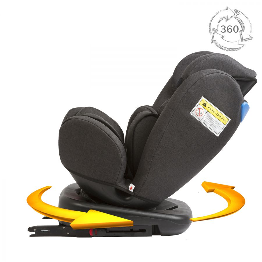 Silla de Auto Revo 2 Isofix - Negra