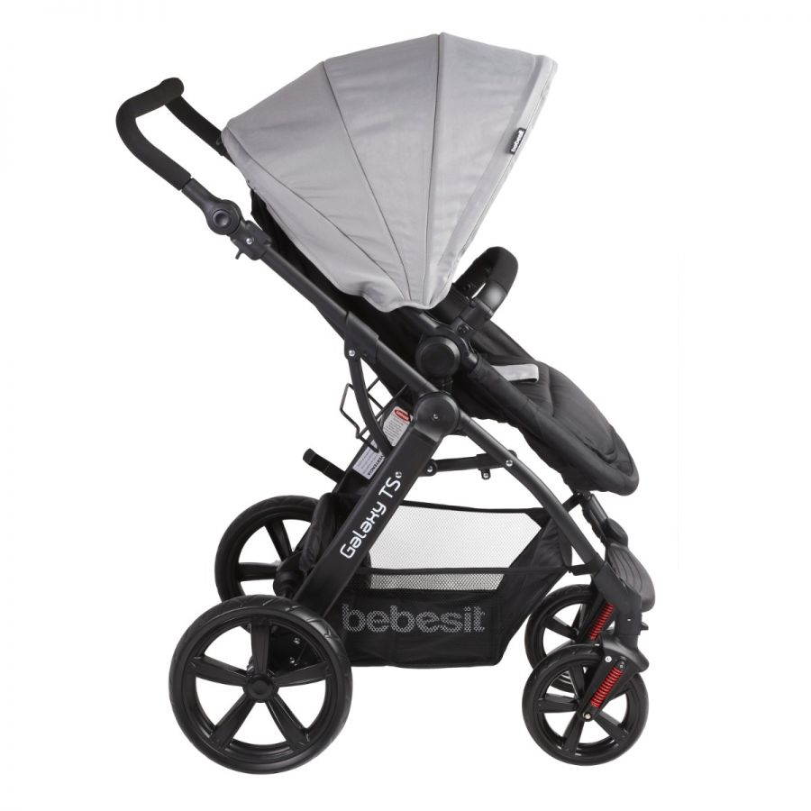 Coche Travel System Galaxy - Gris