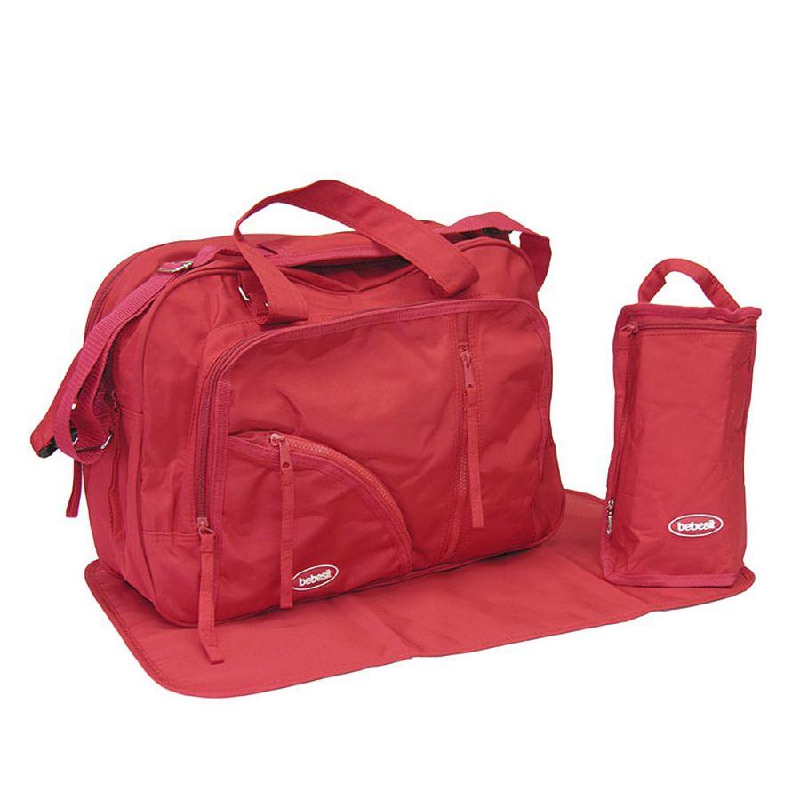 Bolso Pañalero - Rojo