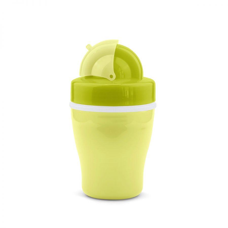 Vaso Con Tapa 200Ml - Verde