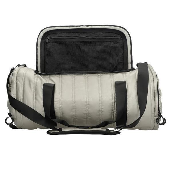 Bolso Deportivo Classic Metalizado Silver Bubba Bags