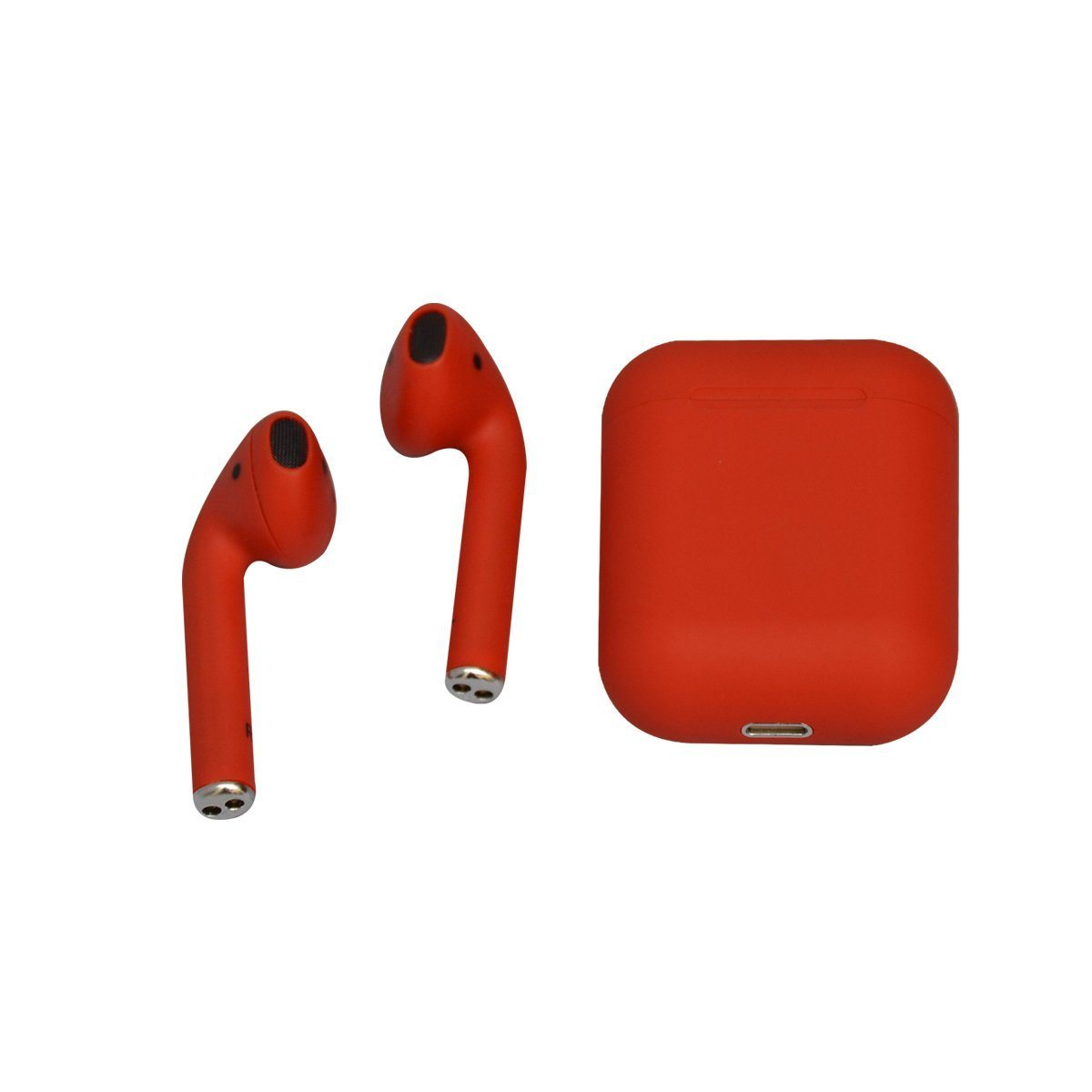 Audífonos Lhotse Bluetooth Inalámbrico Rm12 Rojo