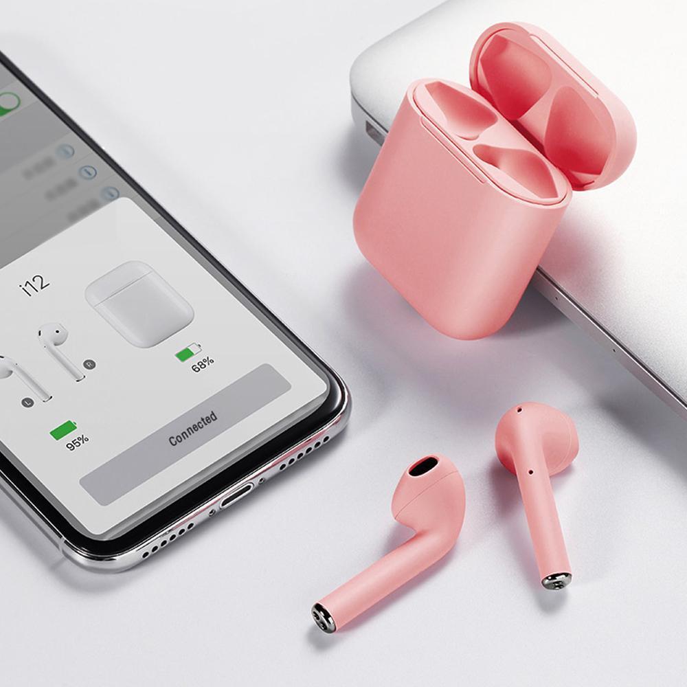 Audífonos Lhotse Bluetooth Inalámbrico Rm12 Rosado
