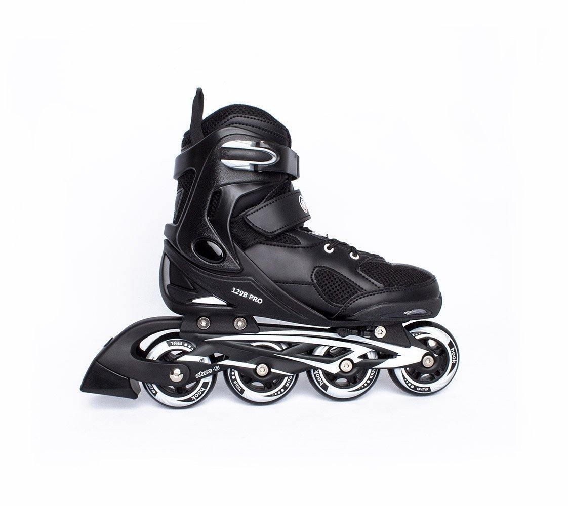 Patin Inline Roller Fitness Adulto Negro Talla L Hook