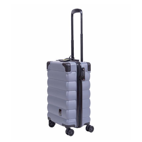 Maleta Matte Light Grey Small Bubba Bags